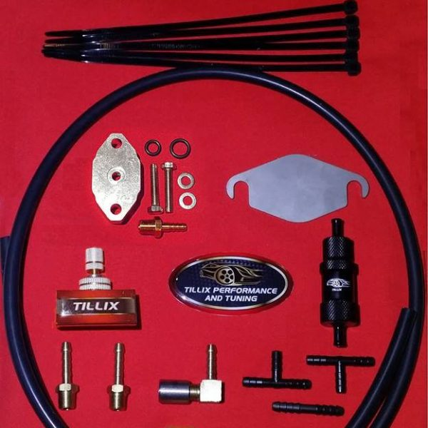 Full boost control kit with boost adaptor.